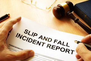 Florida slip-and-fall injury